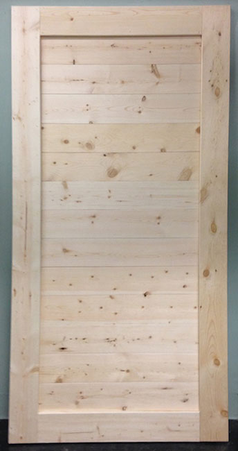 horizontal-plank-barn-door-1 & Horizontal Plank Barn Door \u2013 Beachside Doors Custom Doors | We ...