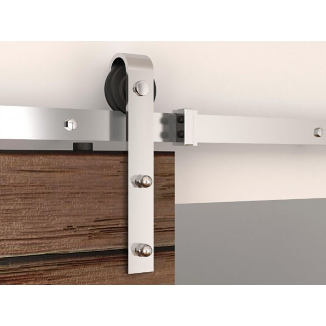 Winsoon 5 8ft Sliding Barn Door Hardware Stainless